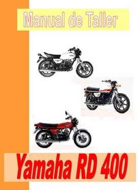 Yamaha 250 - 400 manual taller despiece