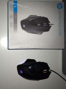 Vendo mouse pad genius + un mouse gamer hp G200