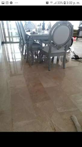 pulida mantenimiento cristalizado pisos