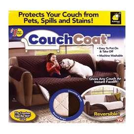 Cubre Sofá Doble Faz Couch Cover (3 Puestos) Nuevo. (ENVÍO GRATIS)