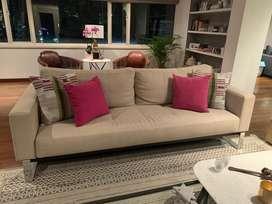 Sofa Cama 220 X 90 Divino! Beige!