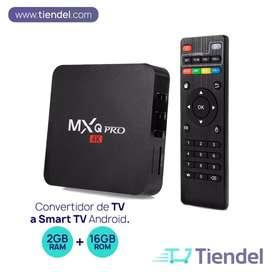 TV BOX 4K - Convertidor de TV a SmartTv 16GB / RAM 2GB