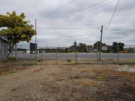 Alquilo terreno industrial, vía principal de Daule - H. LARA