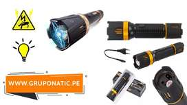 Linterna LED recargable ZOOM 4 in 1 Gruponatic La Molina