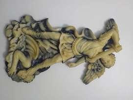 Arcángel Miguel hecho en sal 30x12