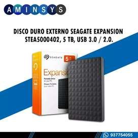 DISCO DURO EXTERNO SEAGATE EXPANSIÓN 5TB