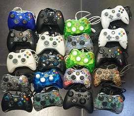 Control Xbox 360 de cable