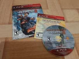 Uncharted 2 juego ps3 en excelente estado