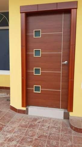 puertas lineales de interior y exterior