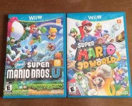 Super Mario Bros U Y 3D World