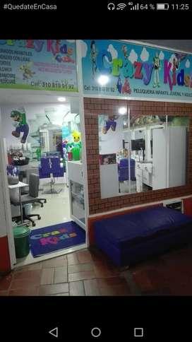 Se vende equipo de peluquería infantil y adultos