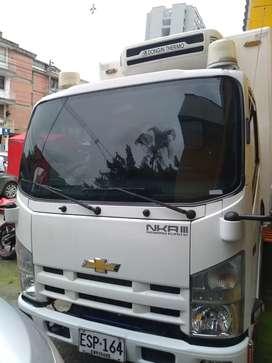 Chevrolet Nkr Iii modelo 2.018 furgón termo congelación