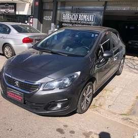 Peugeot 308 2015 feline HDI caja 6ta linea nueva! Permuto Financio