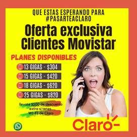 Portabilidad, para clientes de personal y Movistar