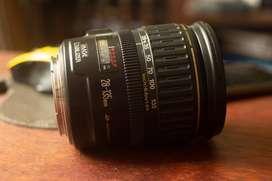 Lente Canon EF 28-135 USM IS, linea dorada