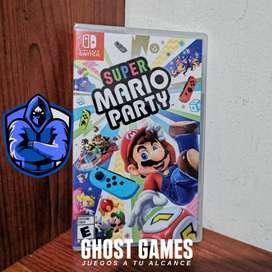 Super Mario Party totalmente Nuevo y sellado para Switch