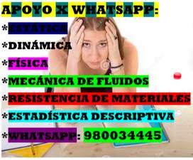 MECANICA DE FLUIDOS CARRETERAS TOPOGRAFIA RESISTENCIA DE MATERIALES CALCULO DIFERENCIAL INTEGRAL ESTADISTICA MATEMATICA
