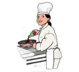 Se busca Maestra de Cocina