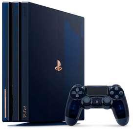 Remató mi PS4 PRO consola playstation 4k Sony + 7 juegos