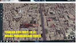 VENTA DE TERRENO FRENTE A LA MISMA PANAMERICANA NORTE KM 28.5