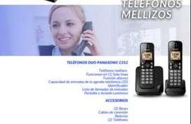 TELÉFONOS DUO PANASONIC C352