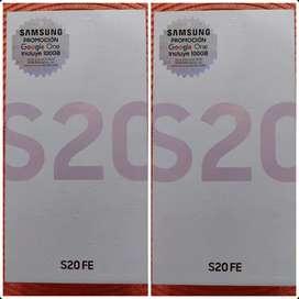 Samsung S20 FE de 128Gbs NUEVOS, ORIGINALES Y HOMOLOGADOS .