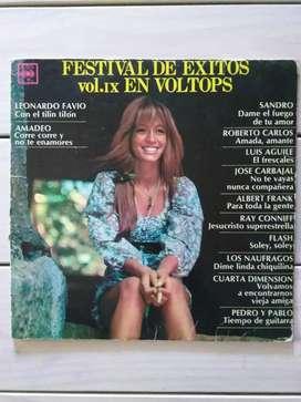 Lp Vinilo Festival De Éxitos Vol. I X En Voltops ( Ver Descuentos)