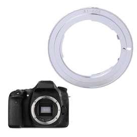 Adaptador de lente Nikon para cámara Canon Eos