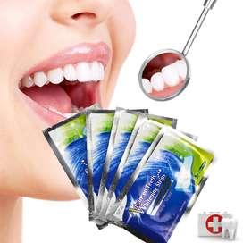 Tira Blanqueadora Dental Blanqueamiento Dientes Blancos Unidad