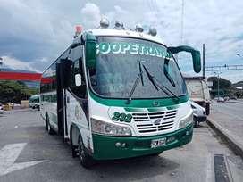 Bus intermunicipal con cupo