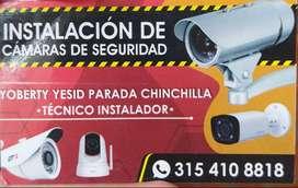 instalación de cámaras de seguridad--vigila todo lo que es importante para ti ---