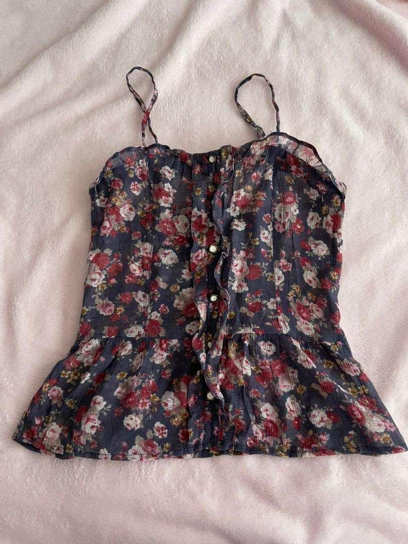 Blusa floral talla S