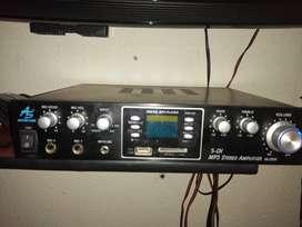 Se vende amplificador como nuevo
