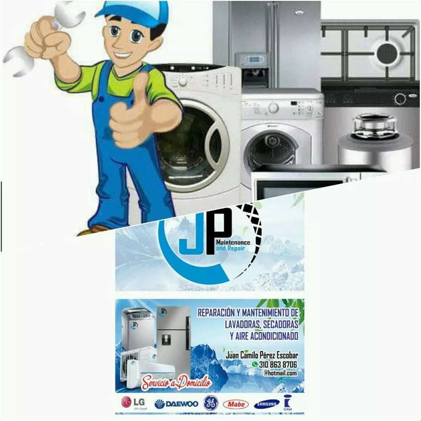 Estamos para colaborarles con nuestro servicio técnico en toda la línea Blanca neveras lavadoras y aires acondicionado. 0