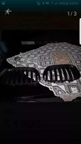 Parrilla Bmw X5 Color Negro tarjetas y mercado pago