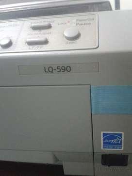 Impresora Epson Lq 590 Matriz de Punto