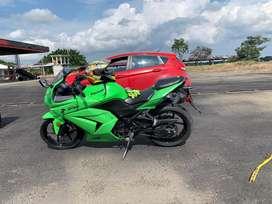 Ninja 250 como nueva