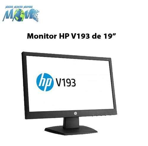 Monitor Hp V193b 19 -ligeramente Usado 0
