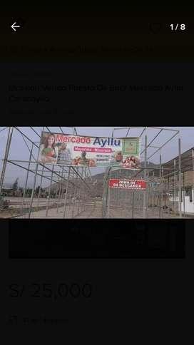 Ocasion vendo puesto mercado Ayllu carabayllokm 24