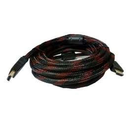 Cable Hdmi 1,5 Mts Oro 24k Hd Doble Filtro 1080 - La Plata