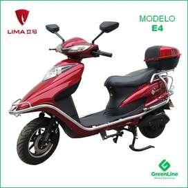 GreenLine Moto Eléctrica LIMA E4