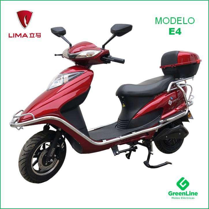 GreenLine Moto Eléctrica LIMA E4 0