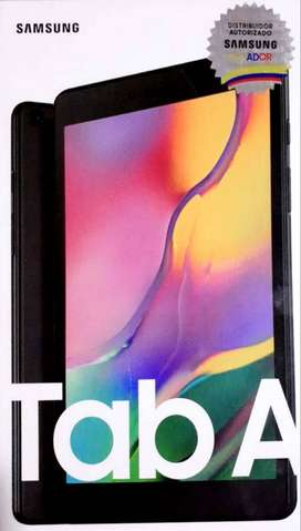 Samsung Tab A de paquete