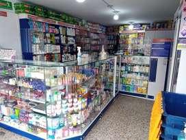 Vendo droguería bien ubicada sobre vía principal barrio galán, surtida imposibilidad de atender