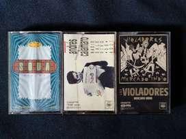 Cassettes Rock Nacional