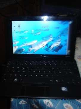 Netbook Compaq Mini Cq10 Atom N270 1.60ghz Ram 1gb Ddr2 Exc. segunda mano  La Paternal, Capital Federal