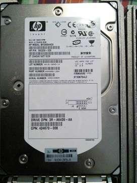 DISCOS ULTRA WIDE SCSI 36 GB HP