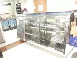 Refrigerador, nevera panorámica, enfriador, mostrador de refrigeración