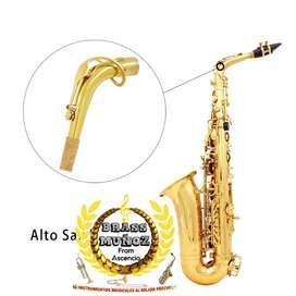 Tudel para saxofón alto