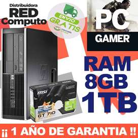CPU GAMER RAM 8GB+1TERA+GRAFICA2GB